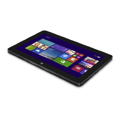 Dell Venue 11 Pro 5130-3547 27,43 cm (10,8 Zoll) Tablet PC (Intel atom Z3770, 2,4GHz, 2GB RAM, 64GB HDD, Win 8, Touchscreen) schwarz Dell Intel Atom
