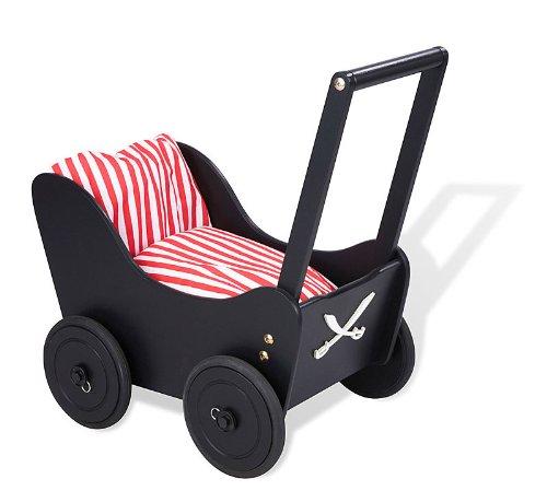 Preisvergleich Produktbild Pinolino 262425 - Piraten Lauflernwagen Fabian, Pirat