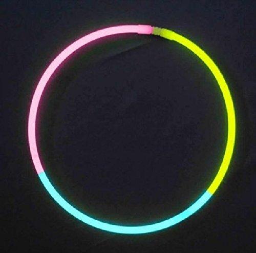 Mondial-fete - 50 Colliers fluo tricolore