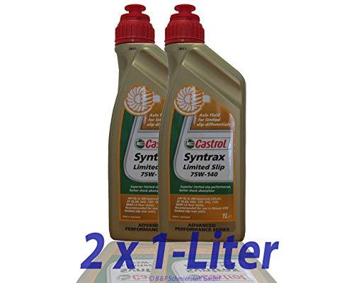 Castrol Syntrax Limited Slip 75w-140 2 X 1 litro
