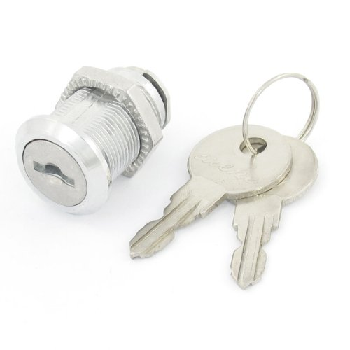 sourcingmap® Office Funiture Metall, Blech, Glas, Türen Sicherheits Zylinder-Hebelschloss