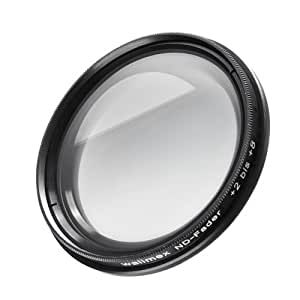 Filtre walimex ND-Fader 77 mm + 2 à 8 pare-soleil
