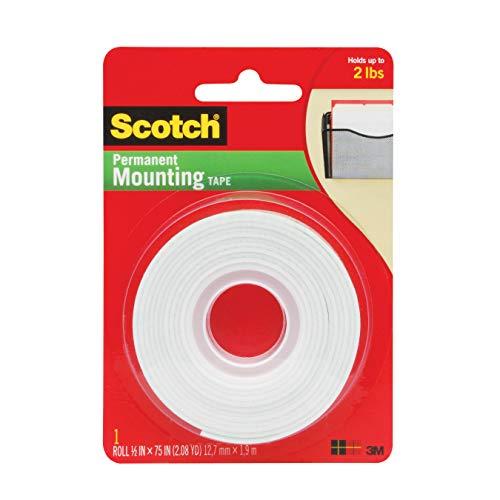 3M Scotch Foam Montageklebeband, mehrfarbig, 2,23 x 9,57 x 13,63 cm
