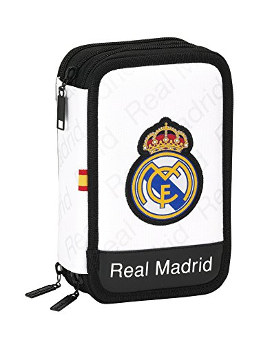Real Madrid – Plumier Triple, 13 x 20 x 6 cm (SAFTA 411557057)