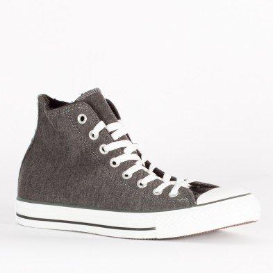 Converse All Star Hi Sweat sweatshirt dark grey (SiZe: 37) All-star-pullover