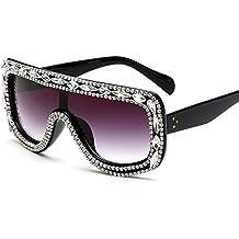 XIAOLONGY Gafas De Sol De Las Mujeres Gafas De Sol De Las Señoras Gafas De Sol