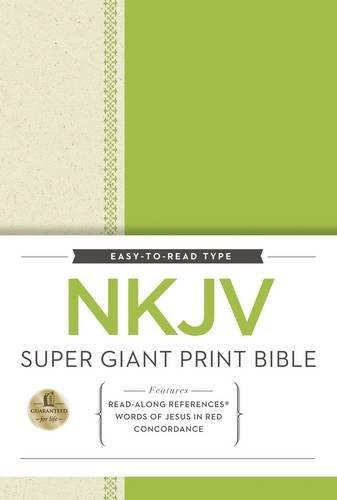 NKJV Super Giant Print Reference Bible