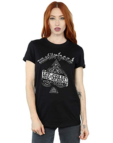 Absolute Cult Motorhead Mujer Ace of Spades Camiseta del Novio...