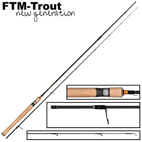 FTM Highline Area 2,06m 0-4,5g - Spinnrute zum Forellenangeln, Angelrute zum Spinnfischen auf Forellen, Forellenrute, Spoonrute