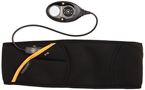 Slendertone Erwachsene Bauchtrainer mit Elektro-Muskel-Stimulation ABS 7, Schwarz, 5099058399032