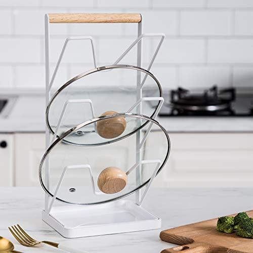 Lagerregal Regal, Multifunktions -Organisator Schreibtisch Tidy Mehrschichtig Eisen Für Küche lagerung Haushaltswaren-Weiß -