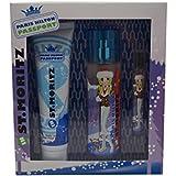 Paris Hilton Passport St.Moritz for Women Gift Set (Eau de Toilette Spray 3.4 Ounce, Body Lotion, Eau...