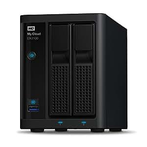WD My Cloud EX2100 Boîtier NAS Série Expert sans Disque - 2 Baies - WDBWAZ0000NBK-EESN