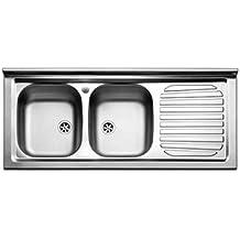 amazon.it: lavello cucina 2 vasche con gocciolatoio - Lavello Cucina 2 Vasche