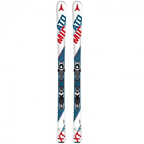 ATOMIC pERFORMER xT fIBRE avec batterie lITHIUM 10 fixations skis all mountain white-blue-red