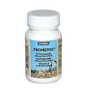 Viobin Prometol 3 Minim, Octacosanol, 100 Cap by Viobin