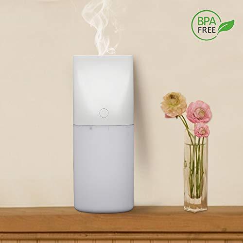 Diffusore di Aromi e Olio Essenziale ad Ultrasuomi, Aromaterapia, Legno granulo elettrico diffusione olio essenziale purificatore d\'aria, 320ML, Nebbia Fredda e Autospegnimento