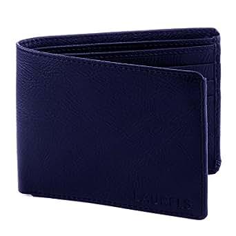 Laurels Men's Wallet Blue-WT-07