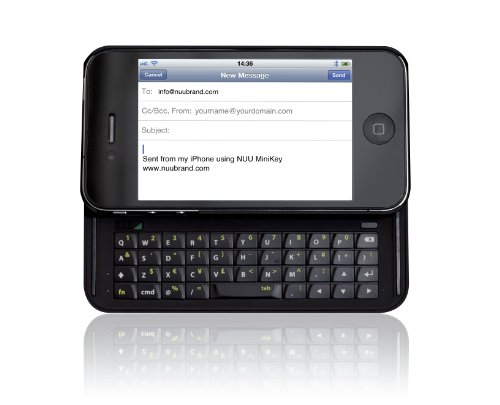 Nuu Clavier coulissant Azerty pour iPhone 4