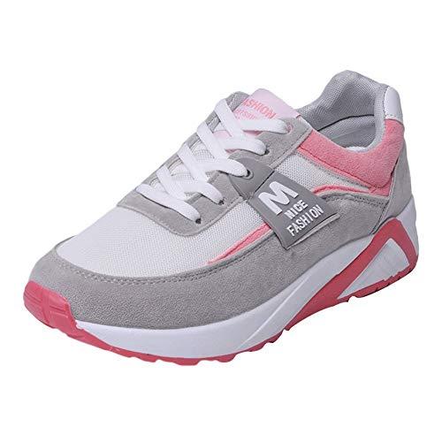 sports shoes db7b6 bcef0 Zapatillas Deportivas de Mujer,YiYLunneo Malla Exterior Shoes Deportivas  Informales Sneakers con Amortiguación de Aumentar