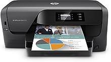 HP OfficeJet Pro 8210 Stampante, 2400 x 1200 DPI, Wi-Fi, Mopria Print Service, Nero