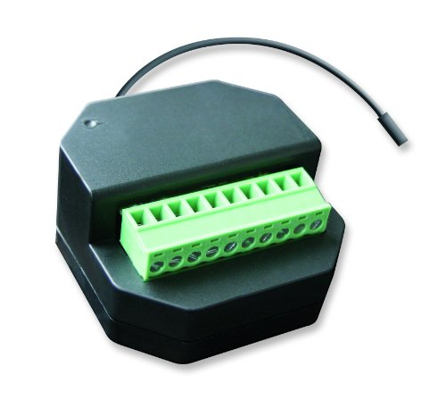 Preisvergleich Produktbild Schellenberg Smart Home Funk-Empfangsmodul | einfache Nachrüstung bei Rollladenmotoren & Markisenmotoren | steuerbar mit Handsender & Funk-Zeitschaltuhr | Rolladensteuerung per App im Smart Home