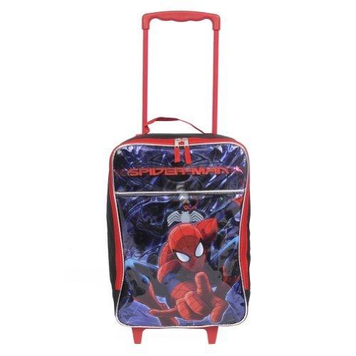 Marvel 40,6 cm Spiderman Amazing Pilot case à roulettes Bagage Approuvé Étui de transport sur...