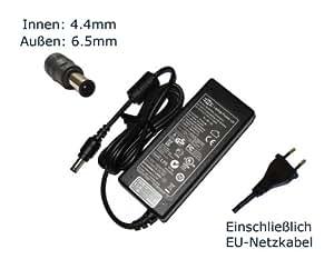 Chargeur pour sony vaio pCG- 21313 m, m pCG- 272 pCG-380 pCG- 381 m, pCG- 382 m pC portable chargeur, chargeur, adaptateur aC, pièce de rechange compatible avec alimentation secteur (câble d'alimentation inclus), marque laptop power