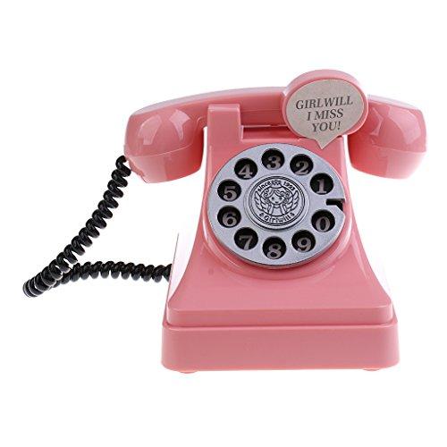sharprepublic Lustige Geldgeschenke Spardose Telefon Sparbüchse Sparschwein - Rosa