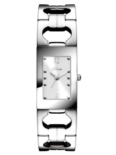 s.Oliver Damen-Armbanduhr XS Analog Quarz Edelstahl SO-2800-MQ