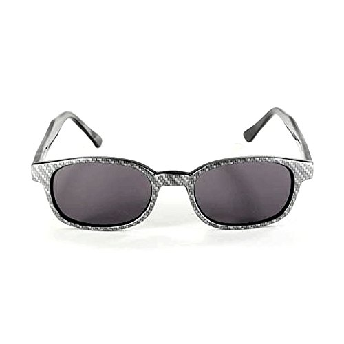 Original KD's Sunglasses Design Kohlenstoff-Faser 2022 - Bikers Small mehrfarbig