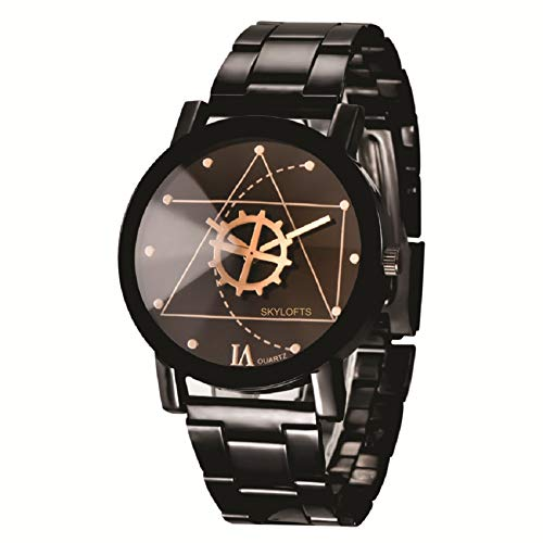 Skyloft Analog Black Dial Men's Watch-jh7