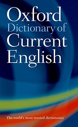 Oxford Dictionary of Current English par Varios Autores