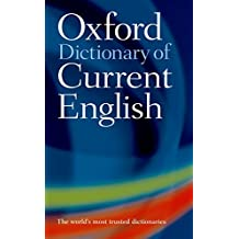 Oxford Dictionary of Current English 4e