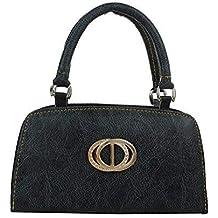 Element Cart Women's Pu Leather Black Color clutch For Women/Girls(EC_29)