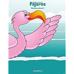 Pájaros y loros libro para colorear 7: Volume 7