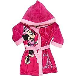 Mgs33 Peignoir Minnie Mouse Rose Candy pour Fille Age 5 Ans, Tout Doux, Superbe Couleur,Disney