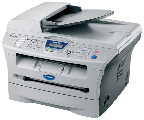 Brother MFC-7420 4-in-1 Monochrom-Multifunktionsgerät (Scanner, Kopierer, Fax, Drucker, 600 x 2400 dpi, USB 2.0)