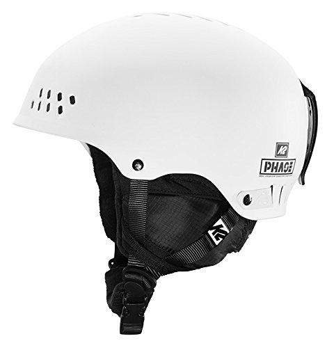 K2 Skis Herren Skihelm PHASE PRO white M 10B4000.2.1.M Snowboard Snowboardhelm Kopfschutz Protektor