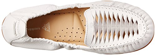 Branco Couro Puppies Loafer Lydia Ceil on Slip Hush qnz7Px7R