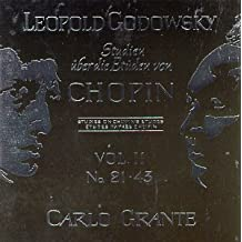 Studies After the Etudes of Chopin by Leopold Godowsky (1996-01-05)