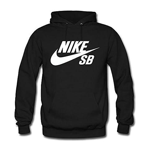 Nike SB Logo Men's Hoodie - Black - Large
