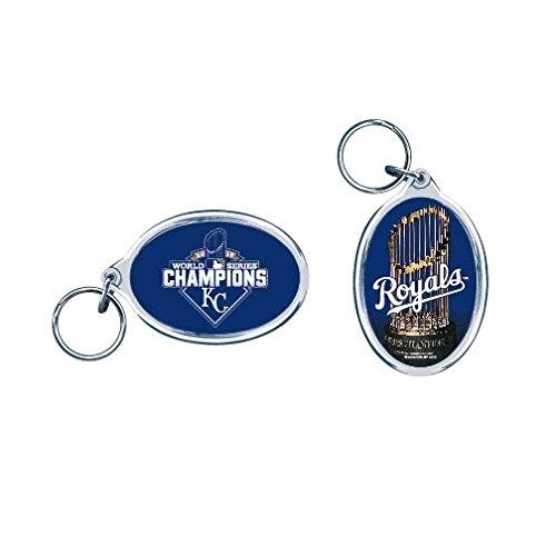 WinCraft Kansas City Royals 2015 World Series Champions MLB Schlüsselanhänger -
