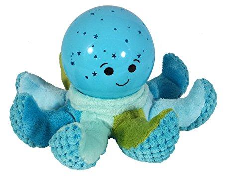 Cloud B Octo Softeez - Blue Independiente Azul - Luz nocturna para bebé (Independiente, Azul, Mesa, Animales, Pulpo, Habitación de los niños)