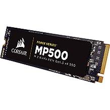 Corsair MP500 PCI Express 3.0 - Disco duro sólido (120 GB, PCI Express 3.0, MLC, PC, Negro, M.2, Windows 10 Education, Windows 10 Education x64, Windows 10 Enterprise, Windows 10 Enterprise x64)