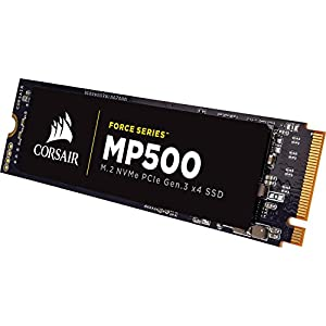 Corsair CSSD-F240GBMP500 240 GB Force MP500 M.2 NVMe SSD MLC NAND Flash Memory
