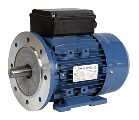 Single Phase Capacitor Start Capacitor Run Motor 0.75 kW 2800 RPM B5 (Flange Mount)