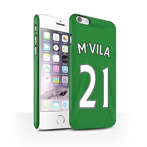Offiziell Sunderland AFC Hülle / Matte Snap-On Case für Apple iPhone 6 / Pack 24pcs Muster / SAFC Trikot Away 15/16 Kollektion M'Vila