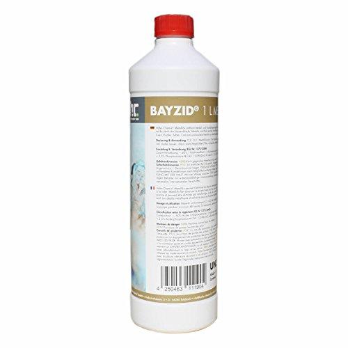 1 x 1 L Metall-Ex 60% für Pools - VERSANDKOSTENFREI - in der handlichen 1 L Flasche