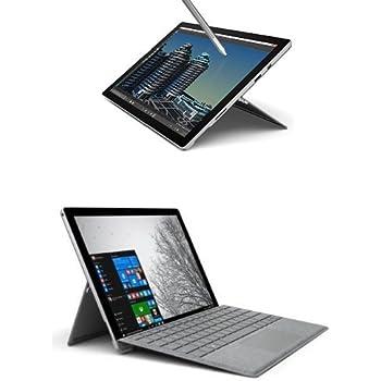 Microsoft Surface Pro 4 Tablet, Processore i5, SSD da 256GB, RAM 8GB + Microsoft Signature Cover con Tasti per Surface Pro 4, Alcantara